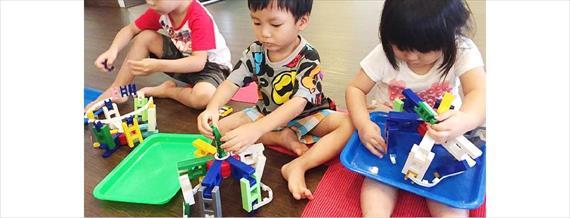 台北.幼兒學習遊戲|積木 LASY