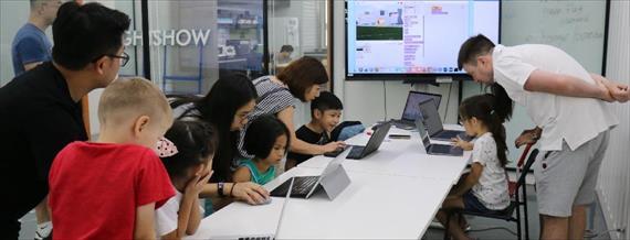 台北.程式設計.全天夏令營|把孩子推上國際的雙語程式營!快樂邁向未來智慧生活