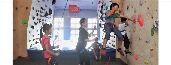台北.攀岩.冬令營 兒童專屬室內攀岩!安全×刺激×有趣體能運動訓練