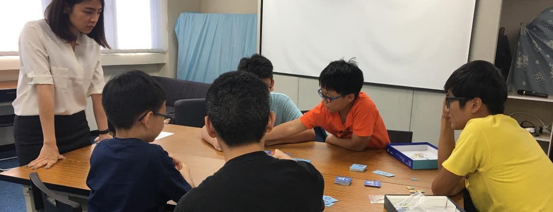 台北.冬令營|數學就是玩遊戲!玩桌遊「只要兩天」快樂提升邏輯力